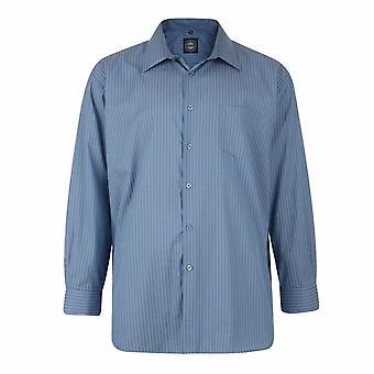 KAM Jeanswear Long Sleeve Pin-Stripe Shirt