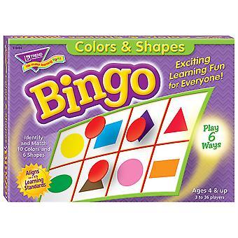 Gioco bingo colori e forme