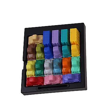 Fun Traffic Logic Creativity Game Early Educational Toy (multicolor)