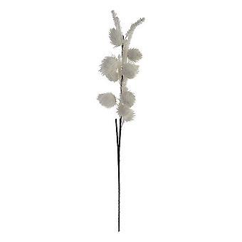 Dekorativ blomma Dekodonia Vitt skum (20 x 113 cm)