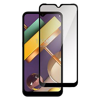 Screen protector for LG K22 , Tempered Glass with Black edges