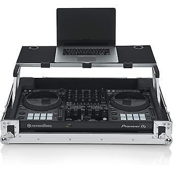 Gator gevallen g-tour serie dj controller road case met glijdende laptop platform - op maat geschikt voor pionier ddj1000; (g-tourdspddj1000)