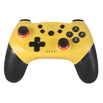 الاشياء المعتمدة ® وحدة تحكم الألعاب لنينتندو التبديل - NS بلوتوث غمبد مع الاهتزاز الأصفر