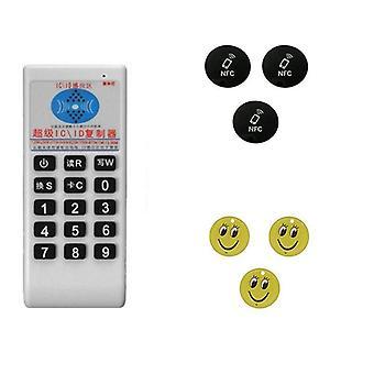 Kädessä pidettävä 125khz-13,56 mhz kopiokone Kopiokone Cloner Rfid Nfc Ic -kortti