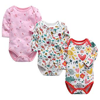 Baby Underwear 3 Pack Infant Long Sleeve Clothes