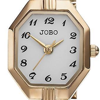 שעון יד של נשים JOBO קוורץ אנלוגי נירוסטה מצופה זהב נשים