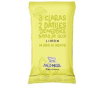 Paleobull Barrita Energética Limón, Goji & Jengibre 55 Gr Unisex