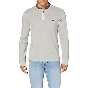 Springfield 3ds MAO M/l Suede Melange-c/43 T-Shirt, Grey (Dark_Grey 43), Large Man