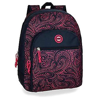 Movom Paisley Backpack adaptable to trolley Multicolore 33x44x13.5 cms Polyester 0 24.5L