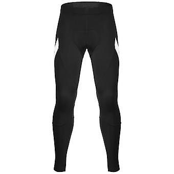 Santic Pánské outdoorové cyklistické kalhoty Zimní termální prodyšné pohodlné kalhoty s polstrovaným polštářem Jezdecké sportovní oblečení