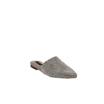 Aqua | Spark Rhinestone Mules