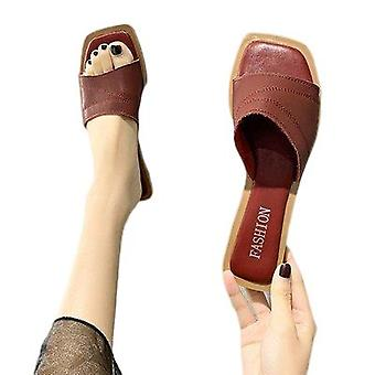 Flat Slippers Casual Fashion Shoes With Soft Soles For Women