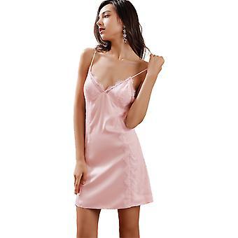 Regenboghorn Sexy Lingerie Nightdress Lace Sling Pajamas Robe Sleepwear D5806