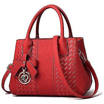 女性ファッションレディースレザートップhle dt6694のための赤い財布hbags