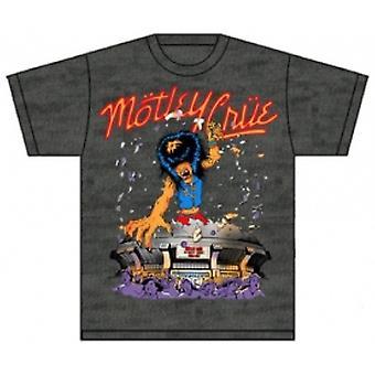 Motley Crue Allister Kingkong Mens Grey TShirt: Stor