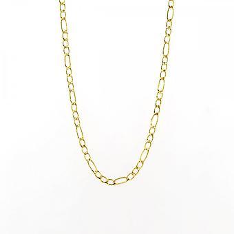 Eternity 9ct Gold 20 '' Medium 3 + 1 Figaro Chain