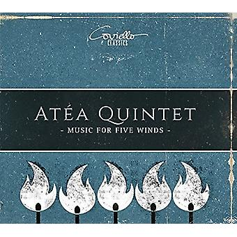 Bozza / Atea Quintet - Music for Five Winds [CD] USA import