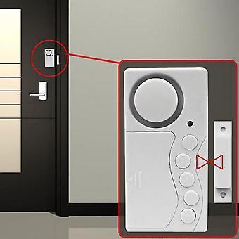 Magnetický senzor Bezdrátové dveře Okno Domů Bezpečnostní Vstup Vloupání Poplašný systém