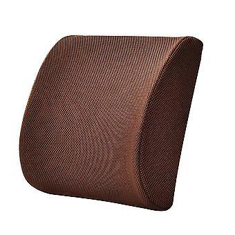 YANGFAN Lendenwirbelstütze Kissen für Stuhl und Auto, Memory Foam Rückenkissen zur Linderung von Rückenschmerzen
