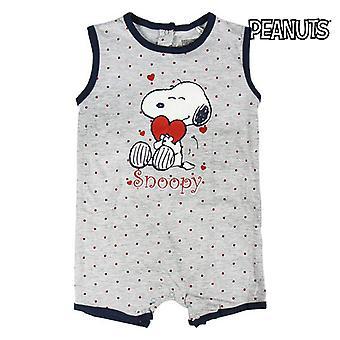 Baby's Sleeveless Romper Suit Snoopy 74585