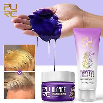 Цвет волос Фиолетовый шампунь