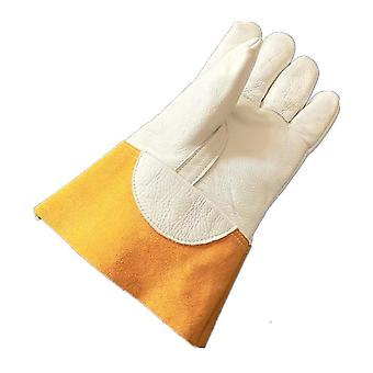 Electricity Insulation Gloves Wearable Cow Leather Heat Resistant Gloves