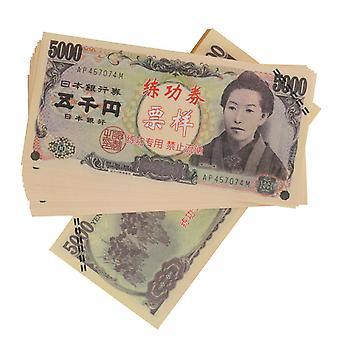 Wirtualne pieniądze-5 000 jenów (banknoty 100)