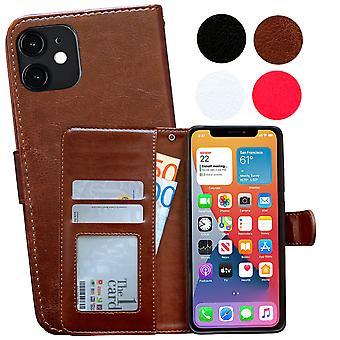 Iphone 12 Mini - Ledertasche / Schutz