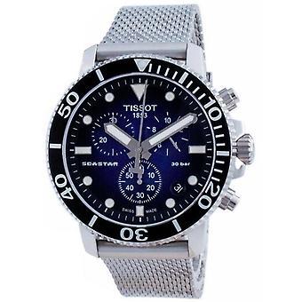 Tissot T-sport Seastar 1000 Kronograf Kvarts T120.417.11.041.02 T1204171104102 300m Mænds Watch