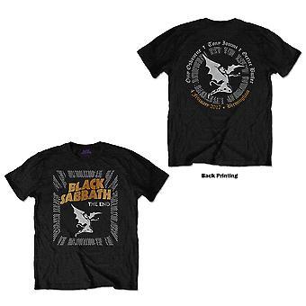 Black Sabbath - The End Demon Unisex X-Large Camiseta - Negro