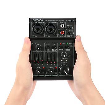 Mengtafel digitale audiomixer geluidskaart