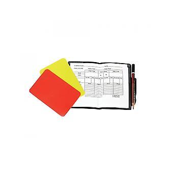 أفضل الرياضة الأساسية الحكام بطاقات التدريب لكرة القدم مع أوراق ملاحظة