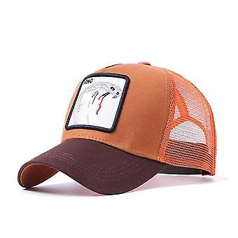 المطرزة شبكة قبعة البيسبول