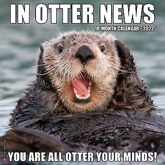 I Otter News 2022 Wall Calendar av Willow Creek Press