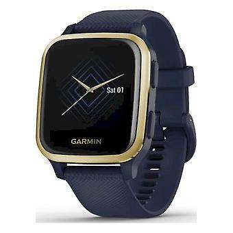 Garmin Smartwatch Unisex Venu Sq – Music Dark Blue White Gold 010-02426-12