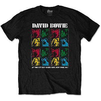 David bowie unisex t-shirt: kit kat klub