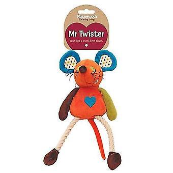 Dog toys mr twister millie mouse dog toy