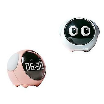 Emoji herätyskello, elektroninen herätyskello, opiskelija yövalo, älykäs lasten