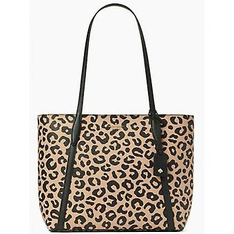 Kate Spade Cara Leopard Tote Cheetah WKR00535