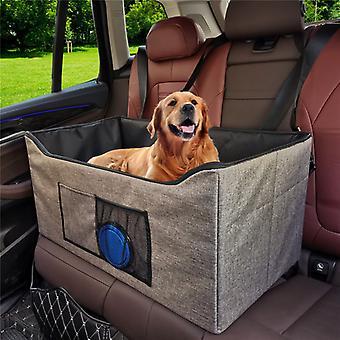 Evago Evago Pet Leverer Pet Car Booster Seat Travel Carrier Cage, Oxford Pustende Sammenleggbare Myke Vaskbare Reisevesker For Hunder Katter Eller Andre Små Pe