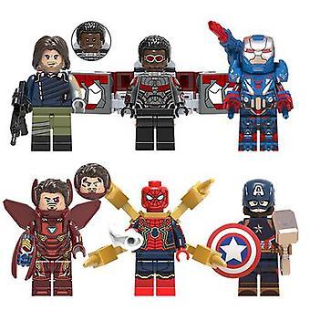 Marvel Avengers Minifigure zmontowane bloki konstrukcyjne