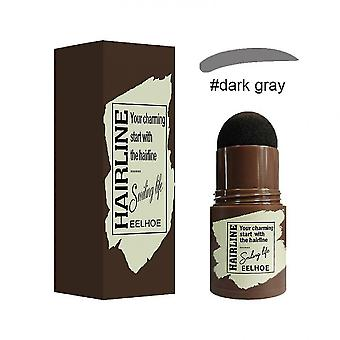 Caraele Eyebrow Stamp Shaping Kit Hairline Shadow Powder Stick avec 24 pochoirs réutilisables