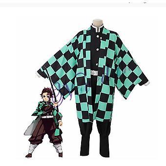 Halloween Anime Costume Demon Slayer Cosplay Tanjirou Kamado Cosplay Costume