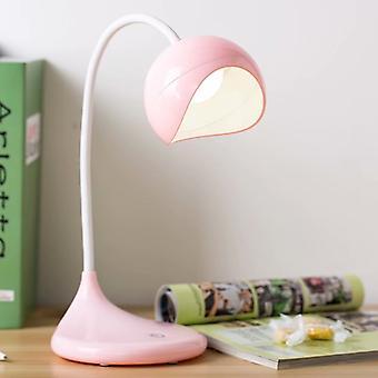 LED Wiederaufladbarer Augenschutz Lernleselampe (rosa)