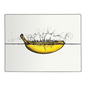 Cutting Board Banana Conception verre Plan de travail cuisine Saver Protector découper