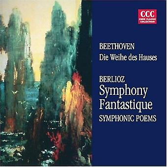 Beethoven/Berlioz - Berlioz: Symphony Fantastique; Symphonic Poems [CD] USA import