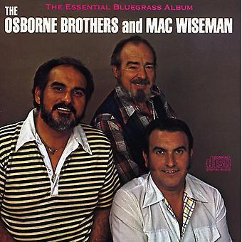 Wiseman/Osborne Bros. - Essential Bluegrass Album [CD] USA import