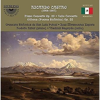 Castro / Ritter / Sagaydo - Concertos [CD] USA import