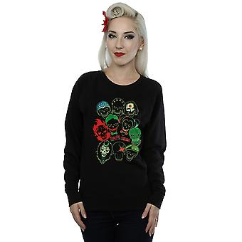 Suicide Squad Women's Band Of Skulls Sweatshirt