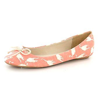 Flekk på Ladies katten ut Ballerina sko